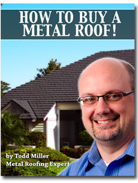 How to Buy a Metal Roof ebook cover